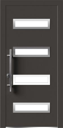 Алюминиевая дверь для зимы Calida Basic CB62-3