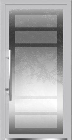 Дверь со скрытыми петлями Calida Glass