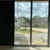 Входные алюминиевые двери со сканером отпечатка пальца