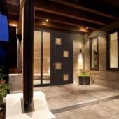 Дверь со скрытыми петлями Calida Composite