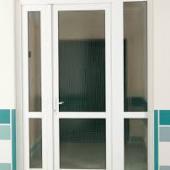 Промышленная ПВХ дверь