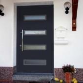 Алюминиевая дверь для зимы