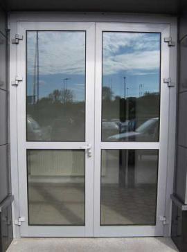 Входные двери с триплексом