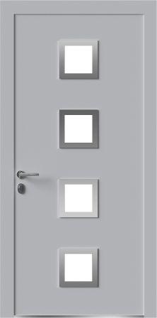 Входная дверь ПВХ ламинированная