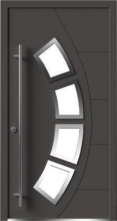 Теплые алюминиевые двери Calida Composite