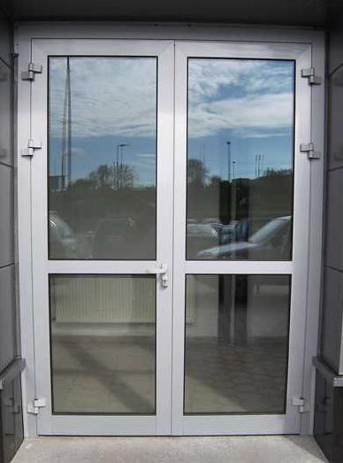 Промышленная алюминиевая дверь