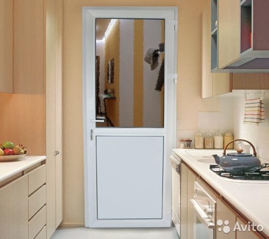 Узкие алюминиевые двери