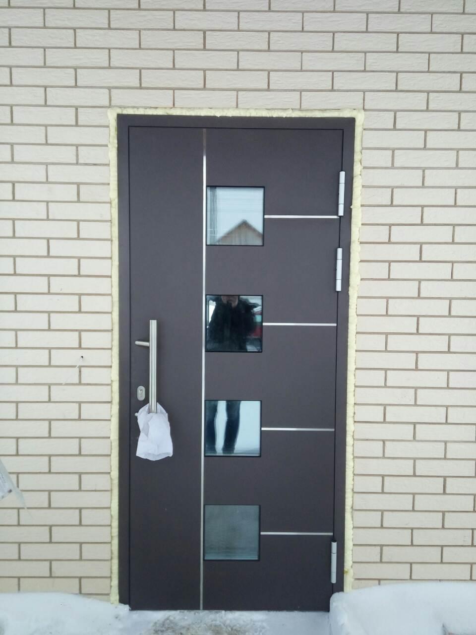 две двери входные теплые