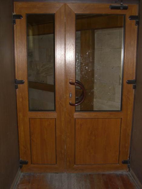 двери пвх ламинированные входные