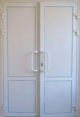 Распашная дверь ПВХ