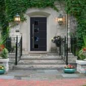 Теплые алюминиевые двери Calida Modern