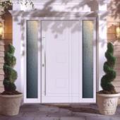 Дверь в дом из газосиликата Calida Lines