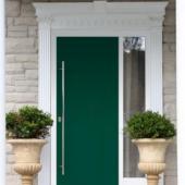 Непромерзающая дверь