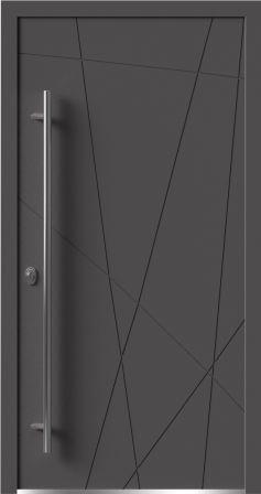 Декоративная дверь Calida Lines
