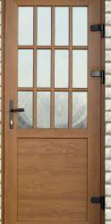 Входная дверь ПВХ ламминированная